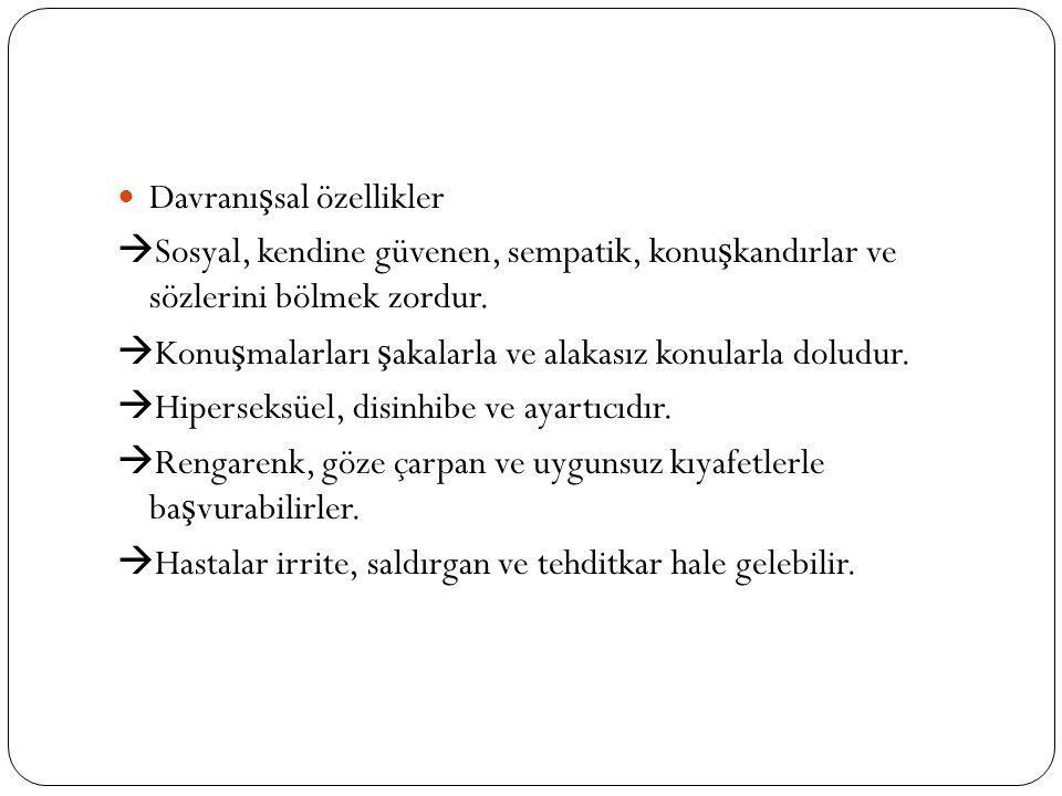 Davranışsal özellikler