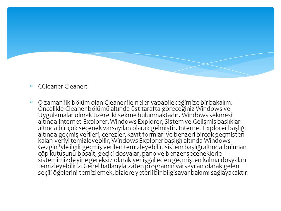 CCleaner Cleaner: