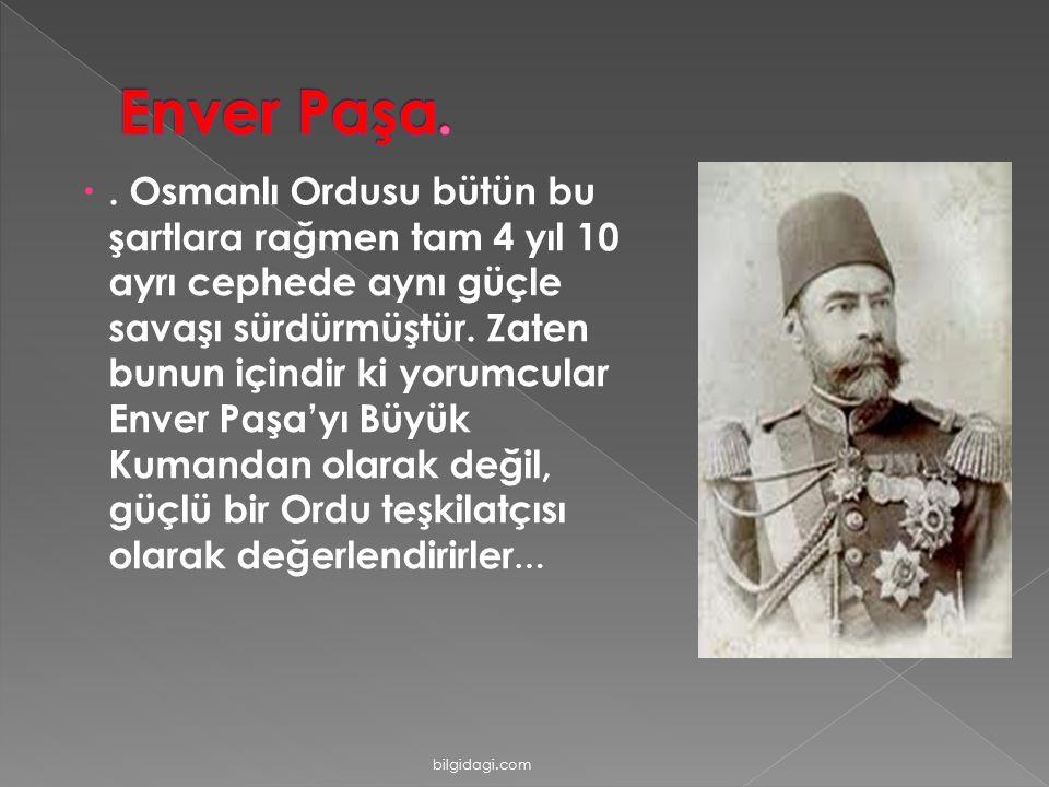 Enver Paşa.