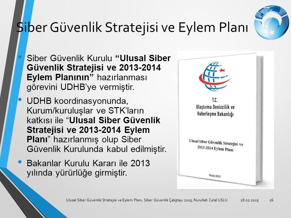 Siber Güvenlik Stratejisi ve Eylem Planı