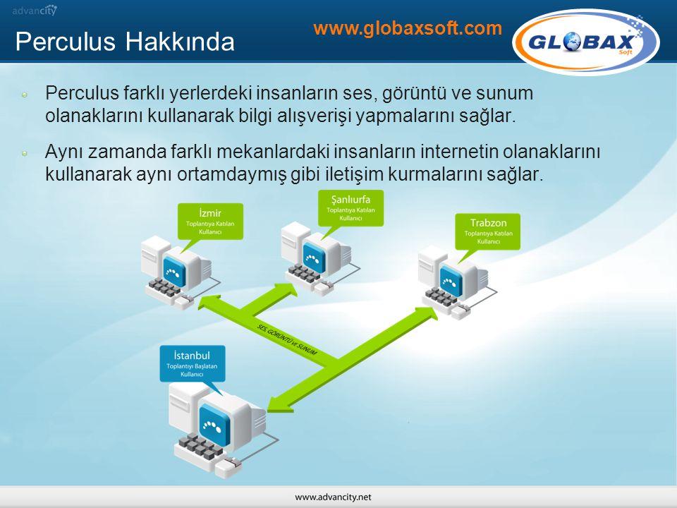 Perculus Hakkında www.globaxsoft.com