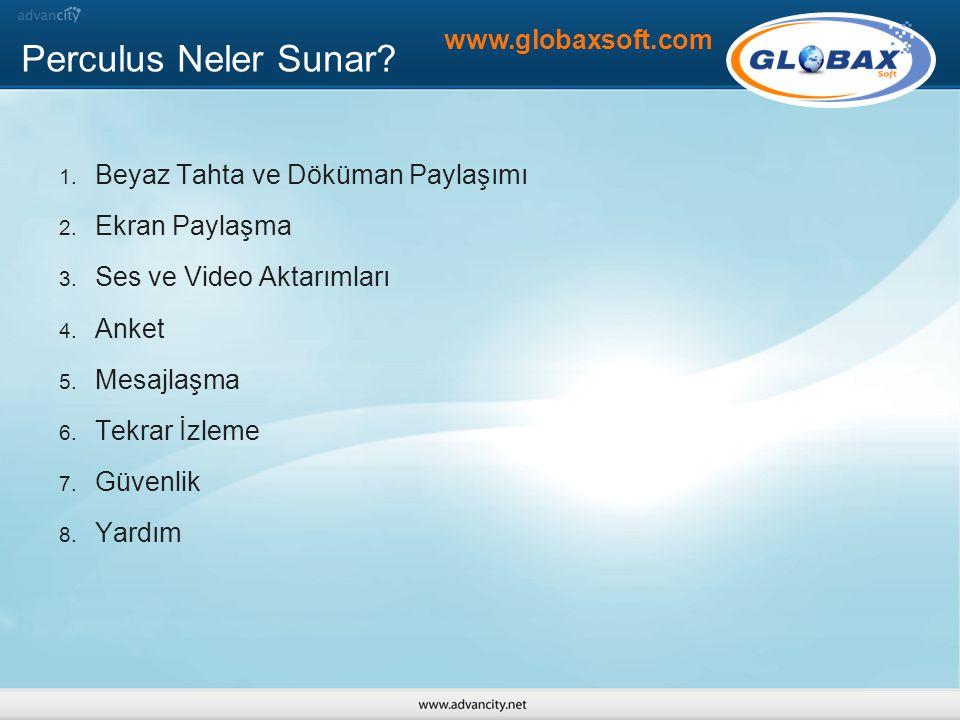 Perculus Neler Sunar www.globaxsoft.com