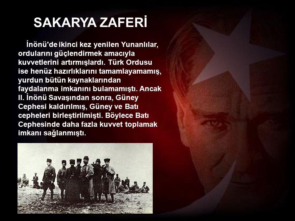 SAKARYA ZAFERİ