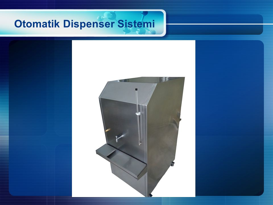 Otomatik Dispenser Sistemi