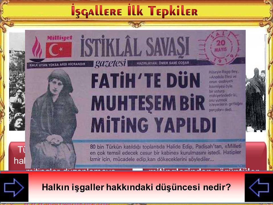 Sultan Ahmet mitinglerinden görüntüler.