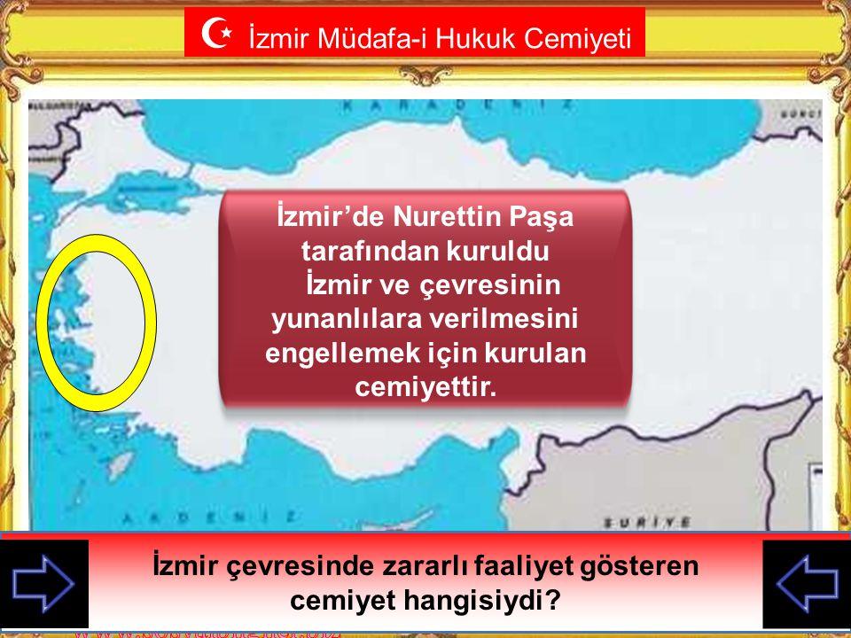 İzmir'de Nurettin Paşa tarafından kuruldu