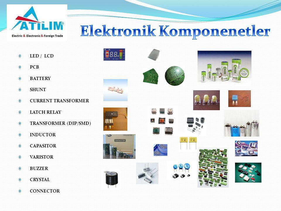 Elektronik Komponenetler