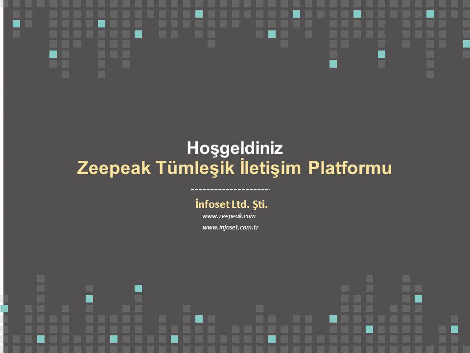 Zeepeak Tümleşik İletişim Platformu