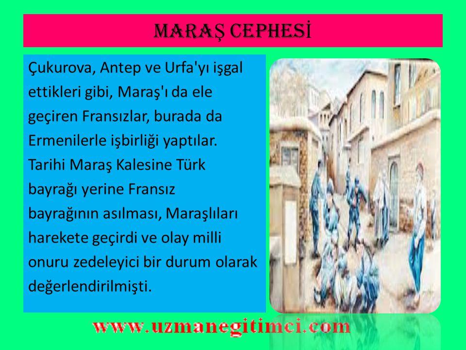 MARAŞ CEPHESİ