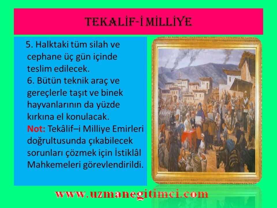TEKALİF-İ MİLLİYE
