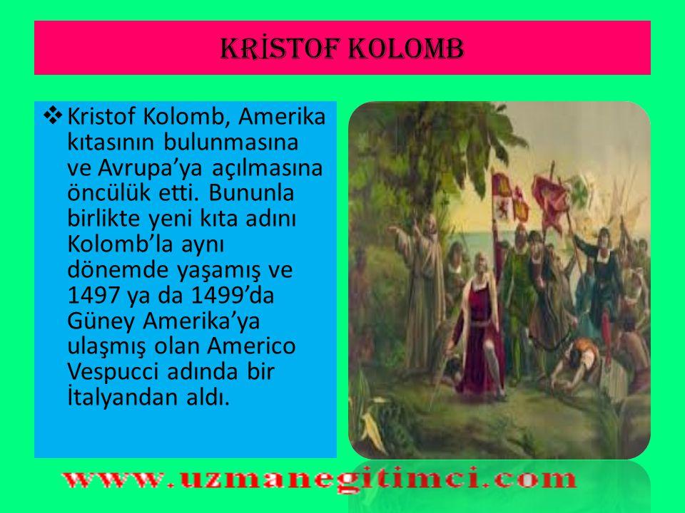 KRİSTOF KOLOMB