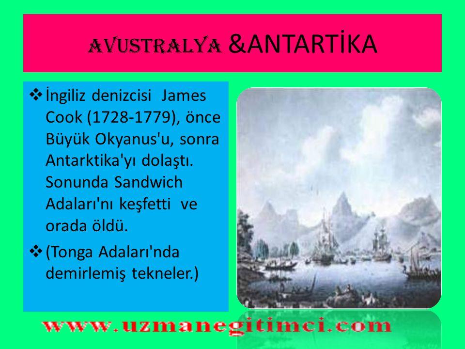AVUSTRALYA &ANTARTİKA