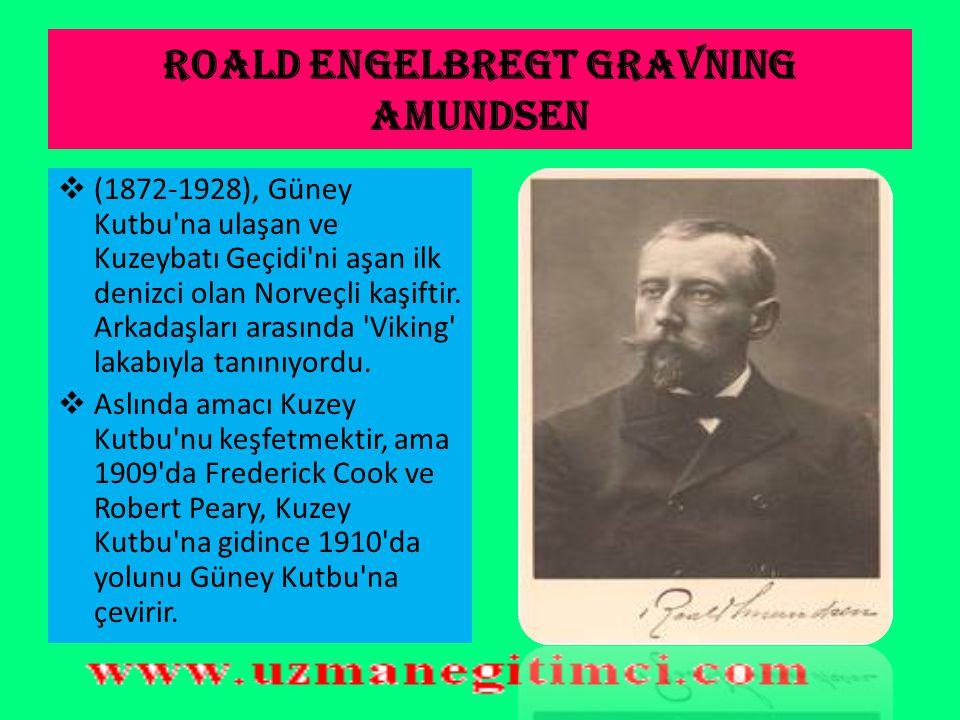 Roald Engelbregt Gravning Amundsen