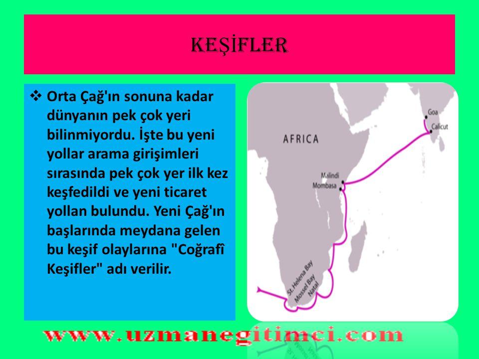 KEŞİFLER