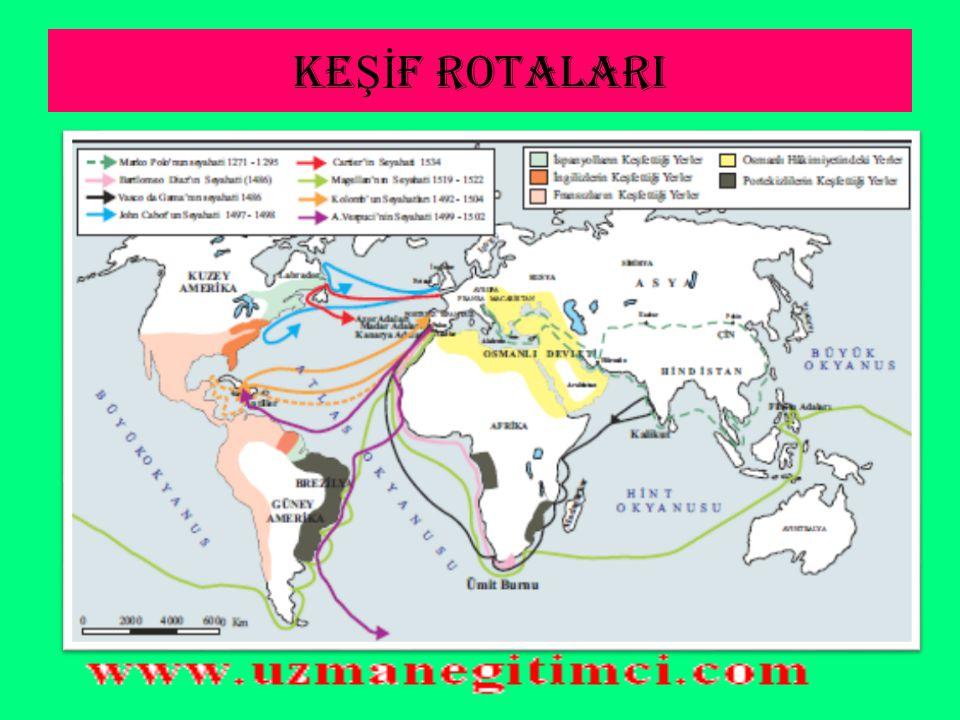 KEŞİF ROTALARI