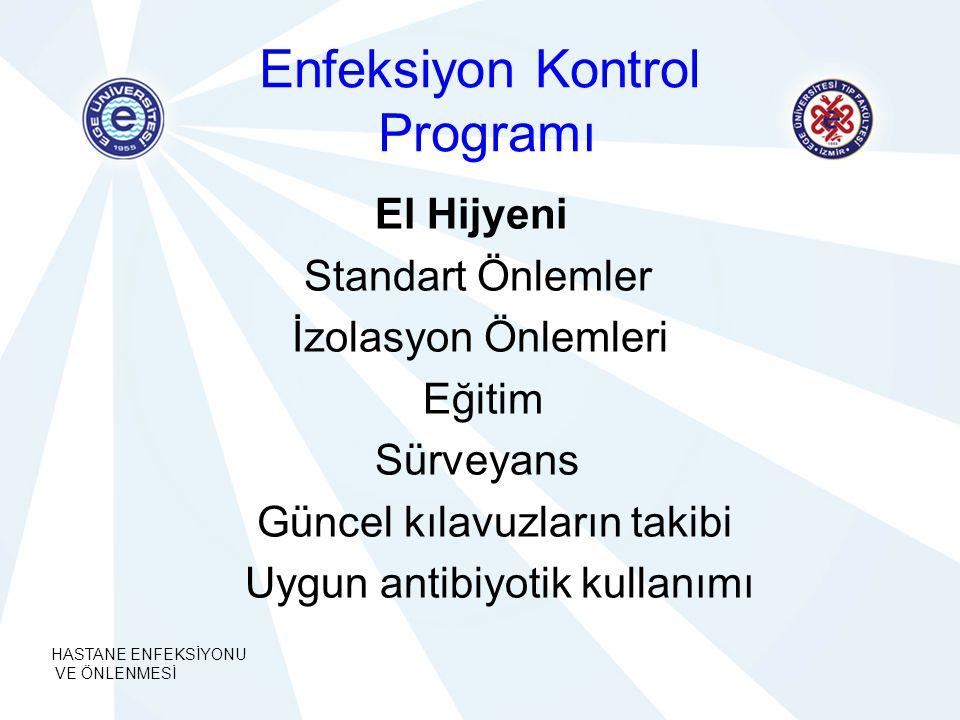 Enfeksiyon Kontrol Programı