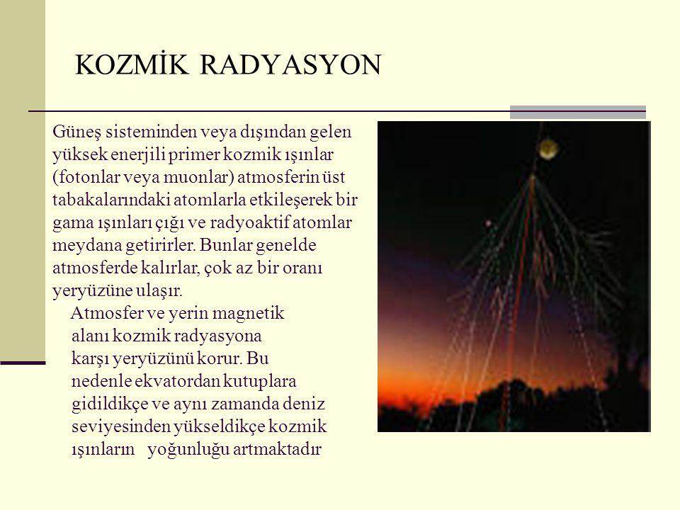 KOZMİK RADYASYON