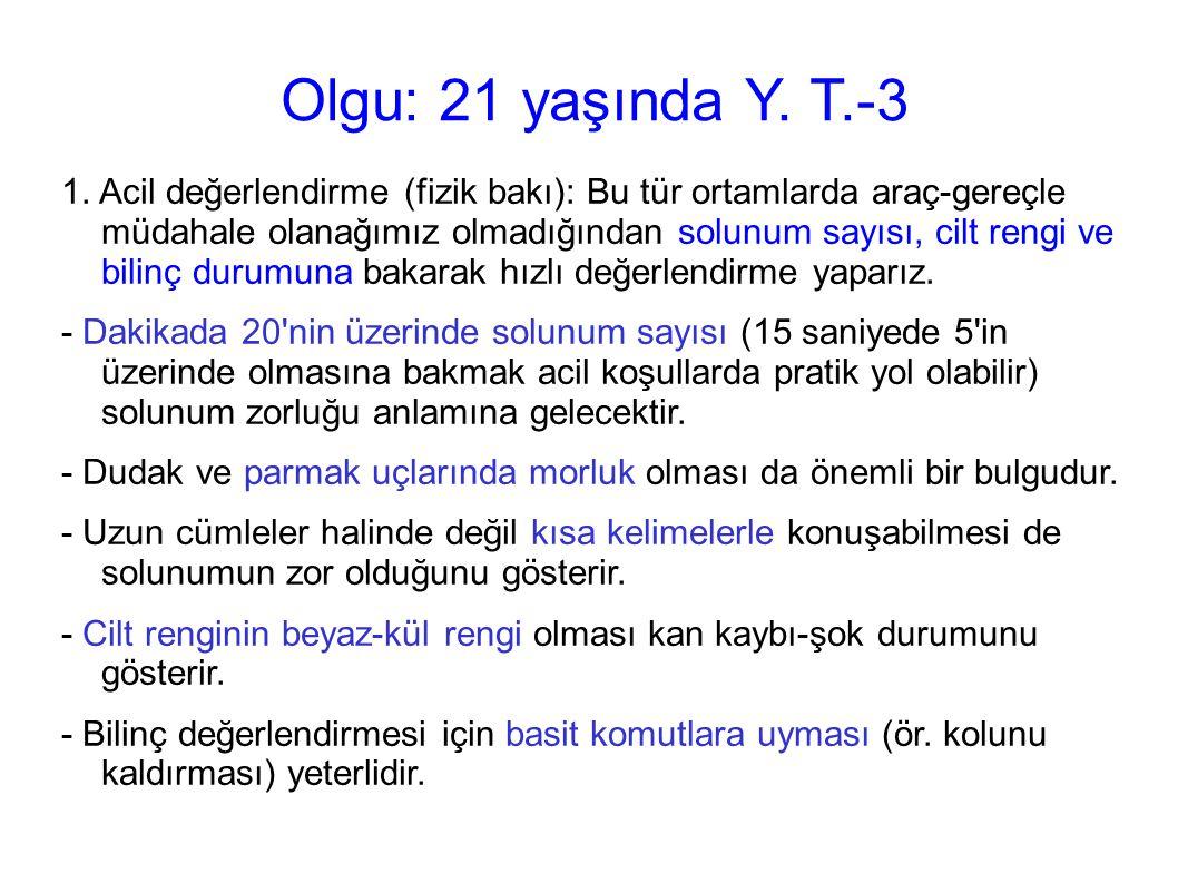 Olgu: 21 yaşında Y. T.-3