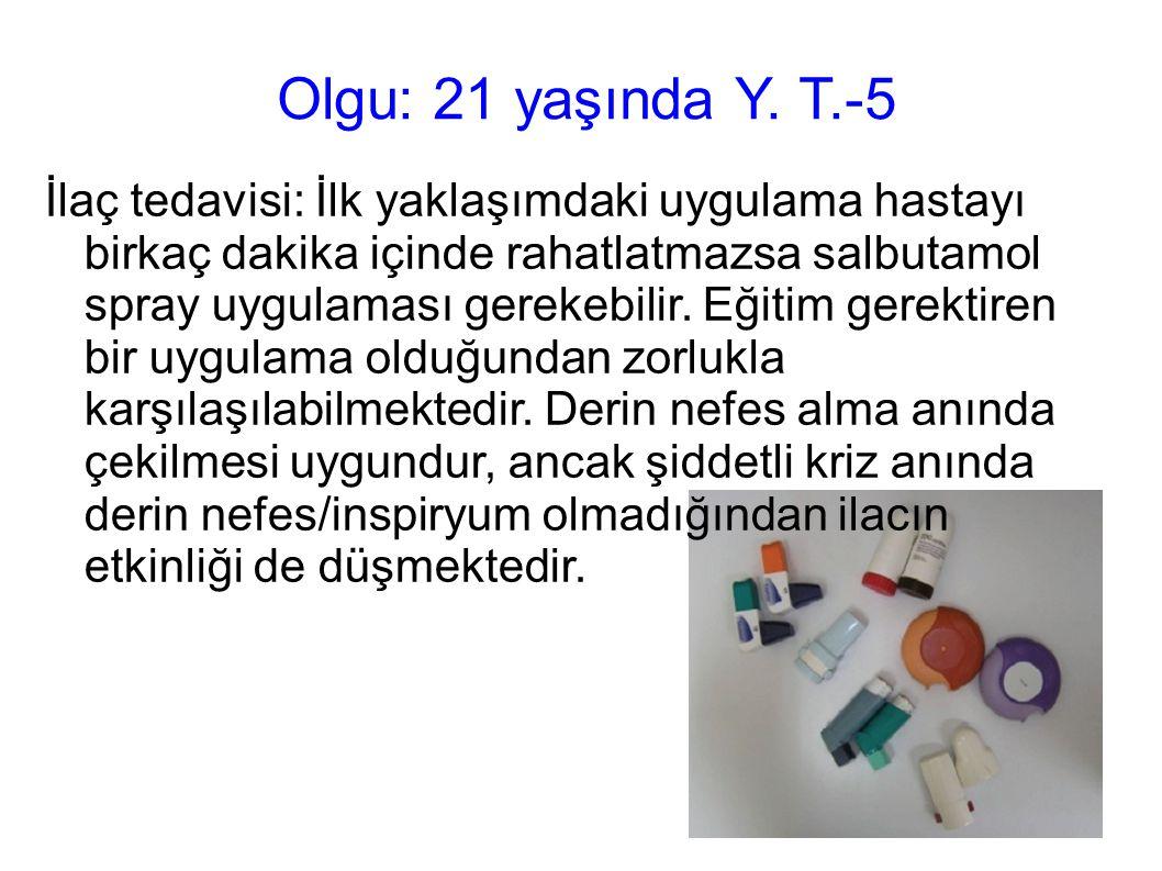 Olgu: 21 yaşında Y. T.-5