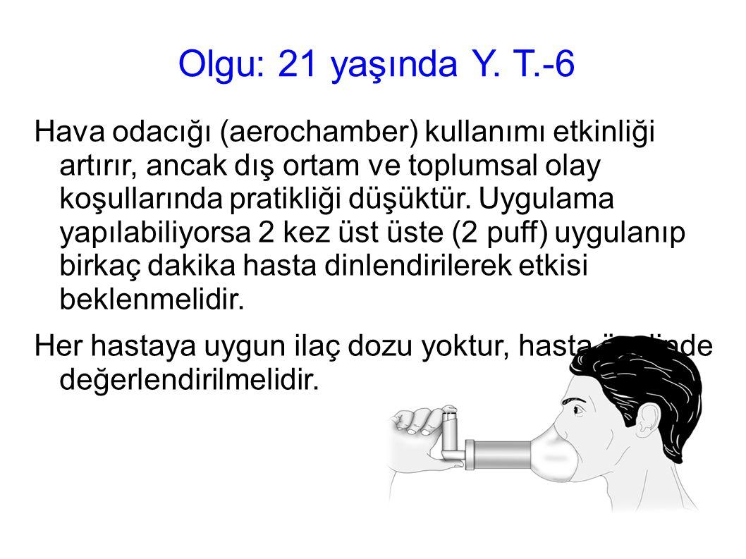 Olgu: 21 yaşında Y. T.-6