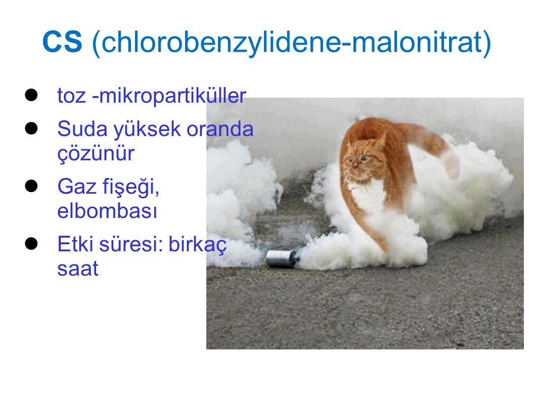 CS (chlorobenzylidene-malonitrat)