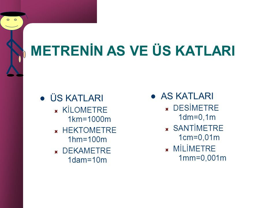 METRENİN AS VE ÜS KATLARI