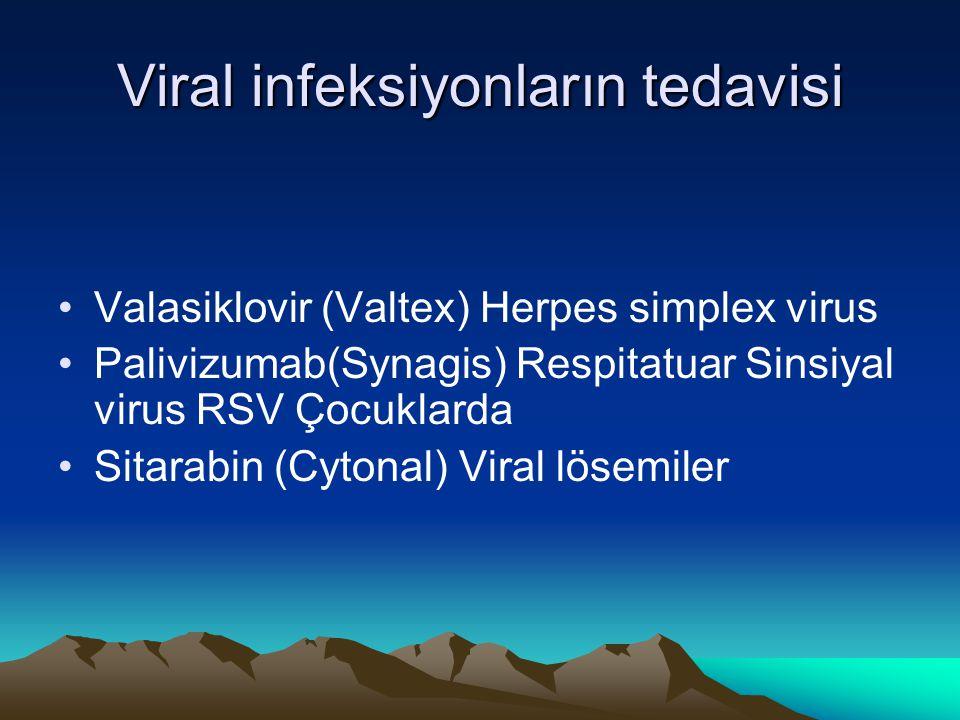 Viral infeksiyonların tedavisi