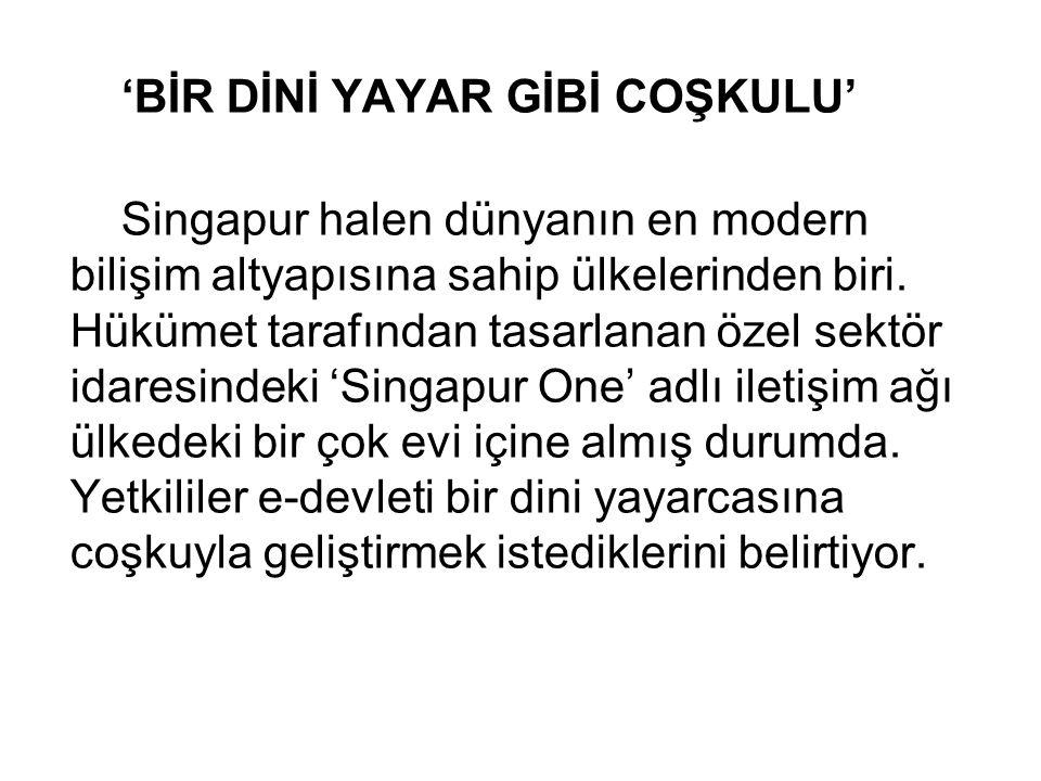 'BİR DİNİ YAYAR GİBİ COŞKULU'