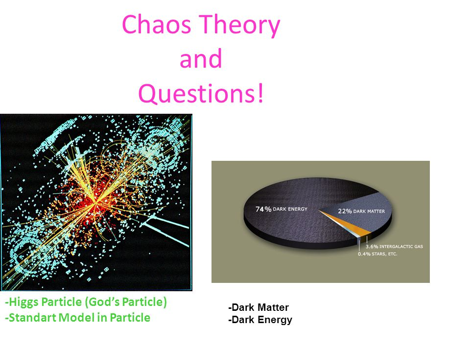 Chaos Theory and Questions!