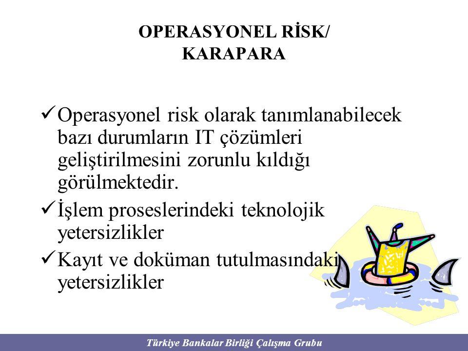 OPERASYONEL RİSK/ KARAPARA