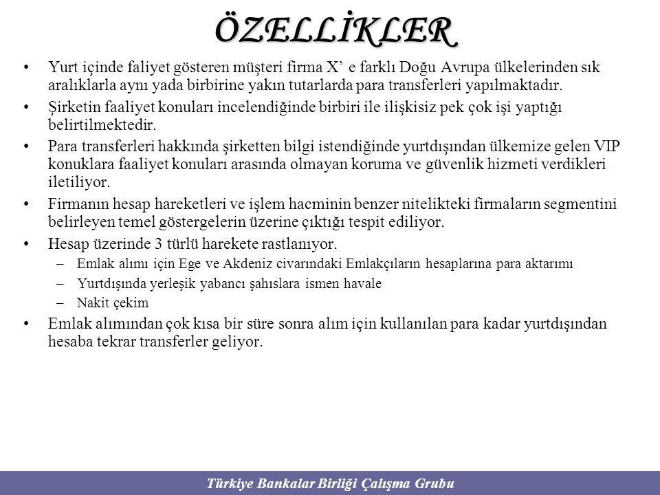 ÖZELLİKLER