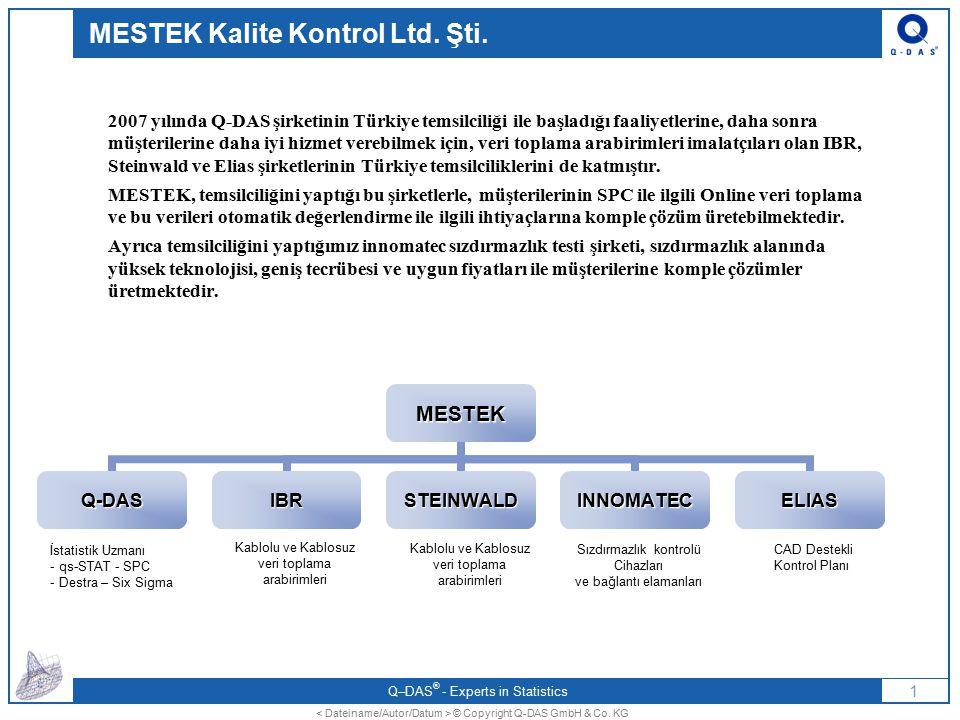 MESTEK Kalite Kontrol Ltd. Şti.