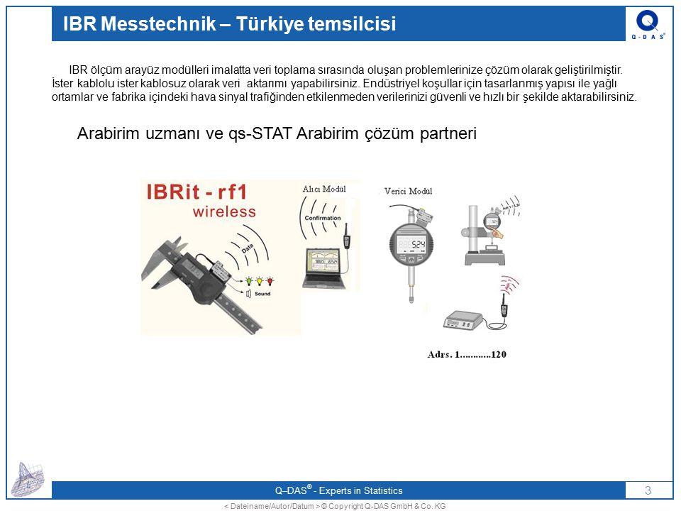 IBR Messtechnik – Türkiye temsilcisi