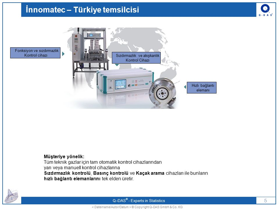 İnnomatec – Türkiye temsilcisi