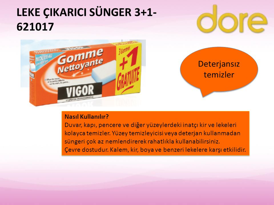 LEKE ÇIKARICI SÜNGER 3+1- 621017