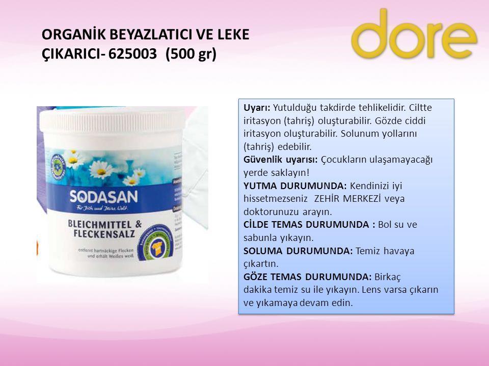 ORGANİK BEYAZLATICI VE LEKE ÇIKARICI- 625003 (500 gr)