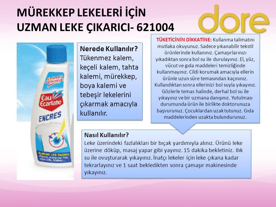 MÜREKKEP LEKELERİ İÇİN UZMAN LEKE ÇIKARICI- 621004