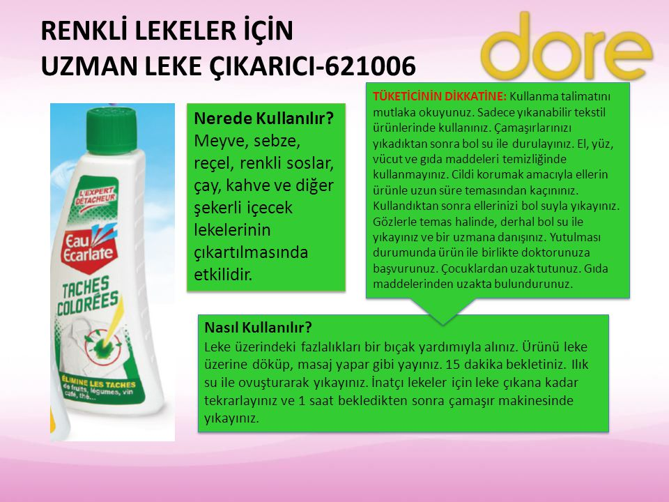 RENKLİ LEKELER İÇİN UZMAN LEKE ÇIKARICI-621006