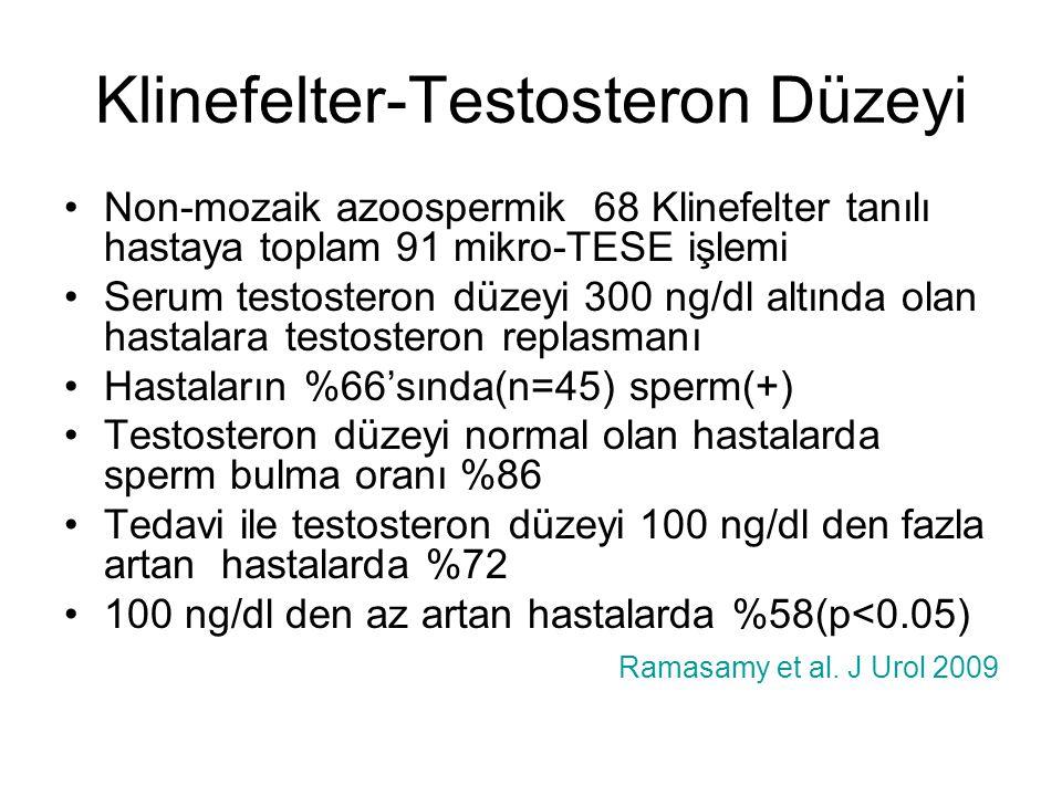 Klinefelter-Testosteron Düzeyi