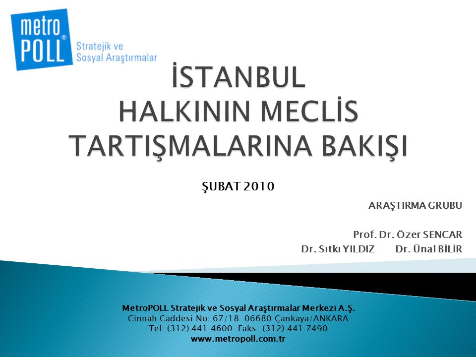 İSTANBUL HALKININ MECLİS TARTIŞMALARINA BAKIŞI