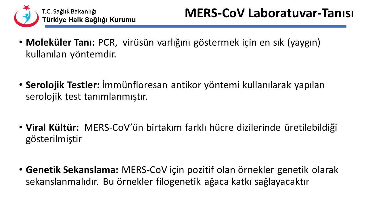 MERS-CoV Laboratuvar-Tanısı