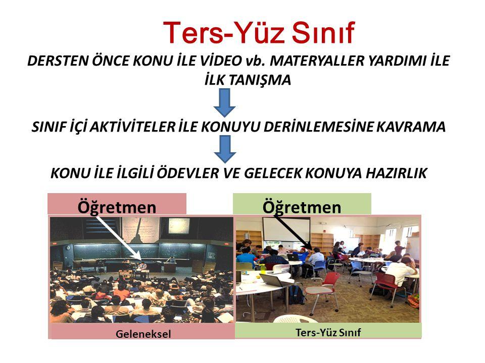 Ters-Yüz Sınıf Öğretmen