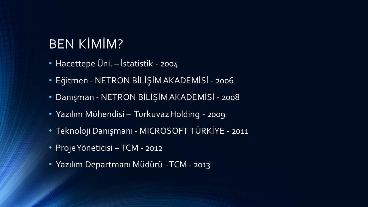 BEN KİMİM Hacettepe Üni. – İstatistik - 2004