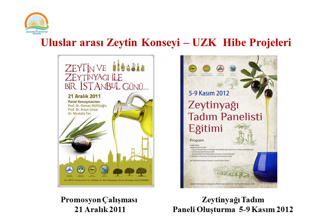 Paneli Oluşturma 5-9 Kasım 2012