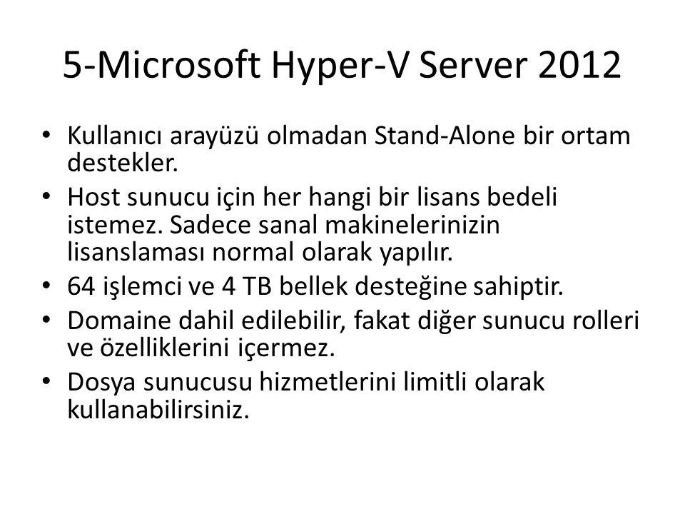 5-Microsoft Hyper-V Server 2012