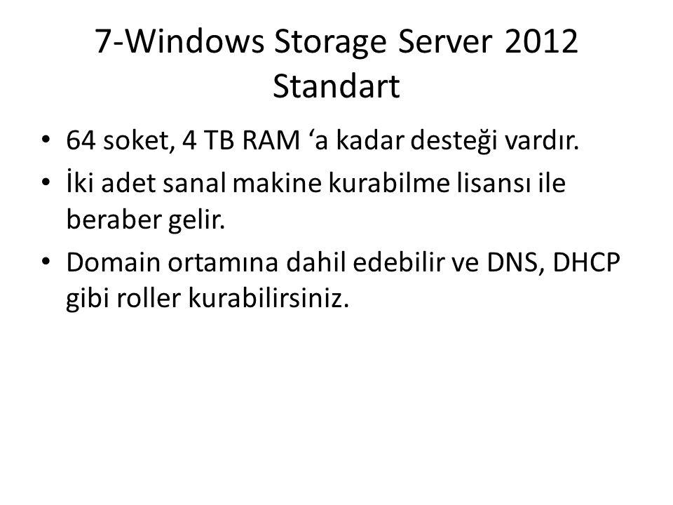 7-Windows Storage Server 2012 Standart