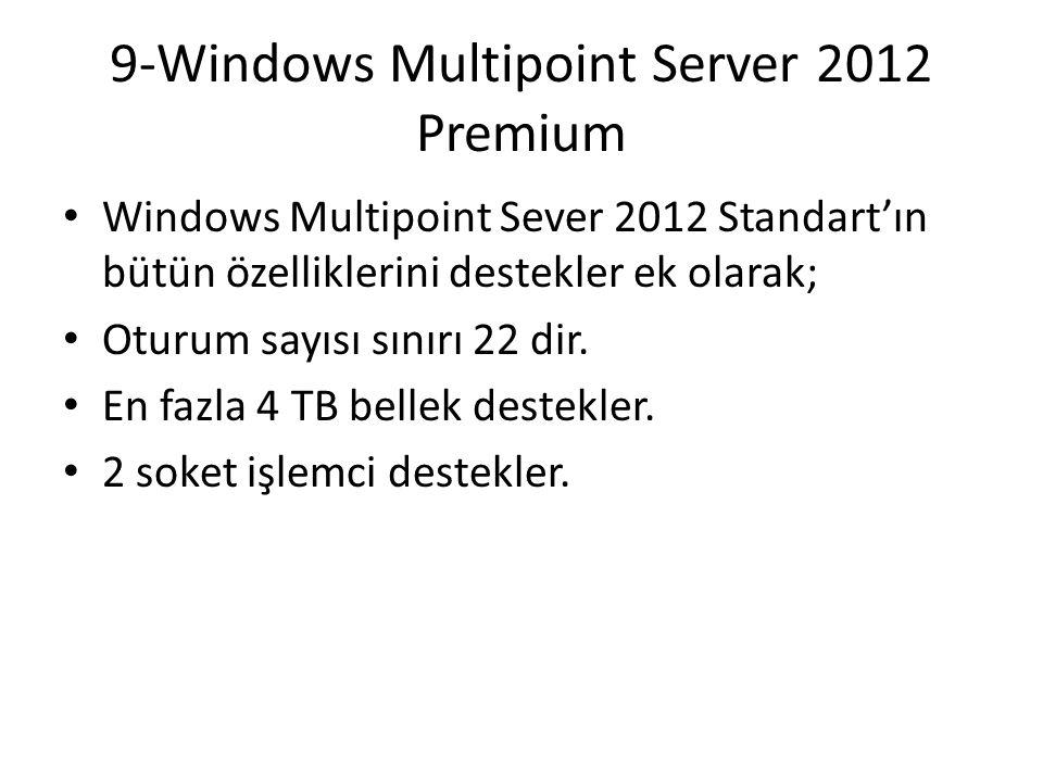 9-Windows Multipoint Server 2012 Premium