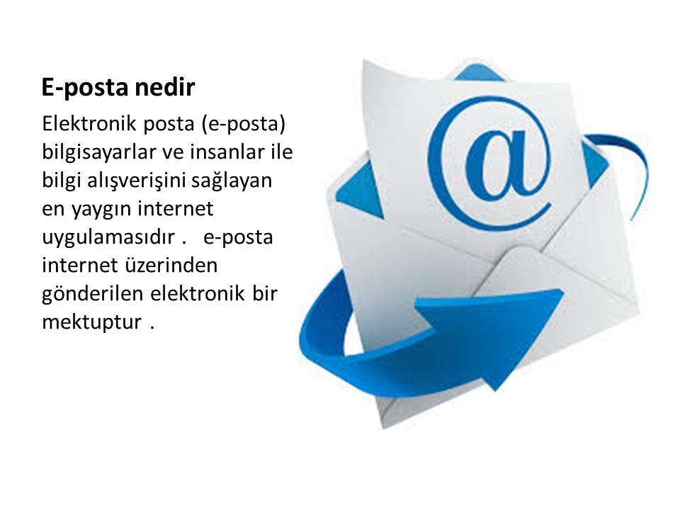 E-posta nedir