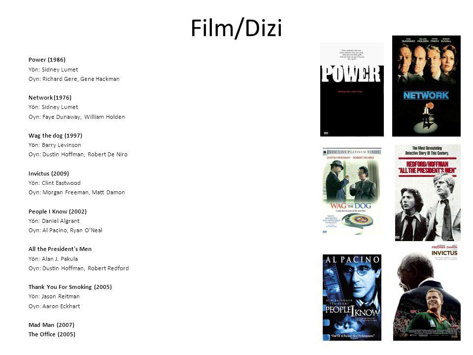 Film/Dizi Power (1986) Yön: Sidney Lumet