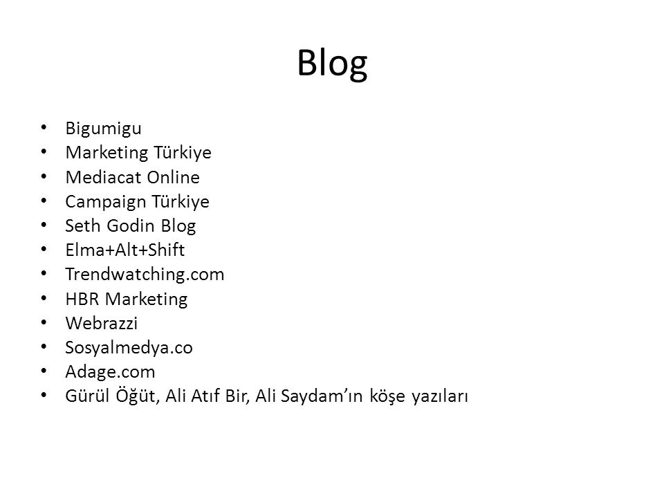Blog Bigumigu Marketing Türkiye Mediacat Online Campaign Türkiye